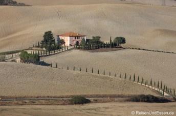 Typisch Toskana - Unterwegs zwischen Montalcino und Pienza