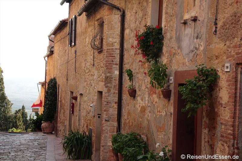 Häuser in Pienza