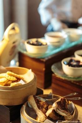 Frühstück im Hotel Santika Premiere Gubeng Surabaya