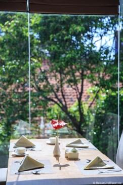 Frühstück im Hotel Santika Gubeng Surabaya