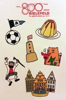 Thumbnail for 800 Jahre Bielefeld - Tattoos und Malvorlagen