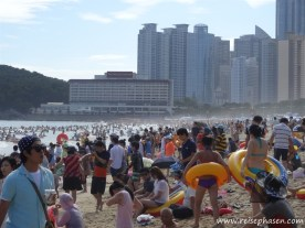Haeundae Strand - Busan - Südkorea