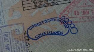 Zum Abschluß gabs noch einen schönen Stempel in den Pass!