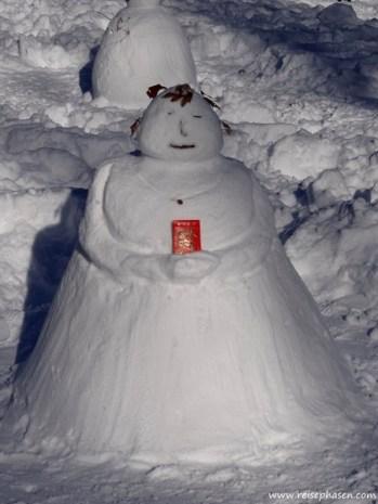chinesischer Schneemann ;-)