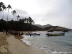 Tagesbesucher werden zurück nach Santa Marta gebracht