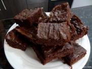 leckere Brownies zum Abschluss