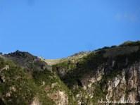 Machu Picchu von der Bahntrasse aus in Sichtweite!