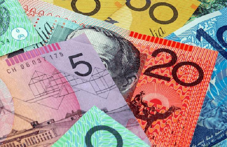 Die Banknoten Australiens