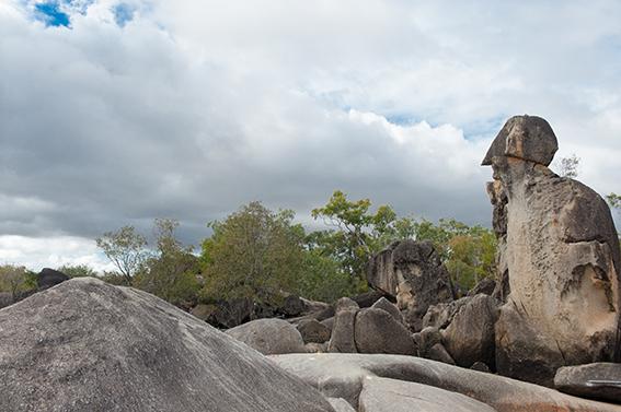 Die Granite Gorge bei Mareeba in Nordqueensland