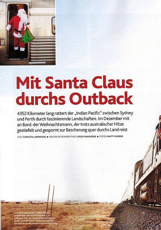 Mit Santa Claus durchs Outback