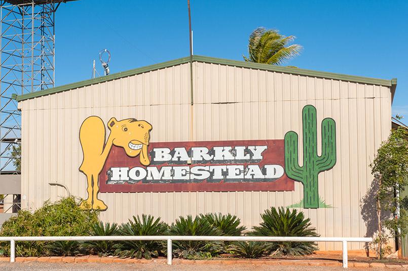 Raststätte am Barkly Highway im Northern Territory