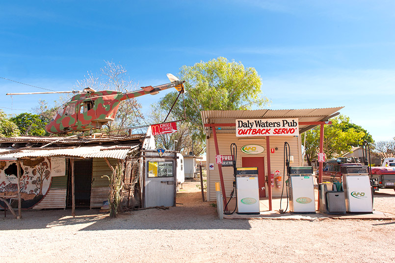 Legendäre Outback-Pinte: der Daly Waters Pub