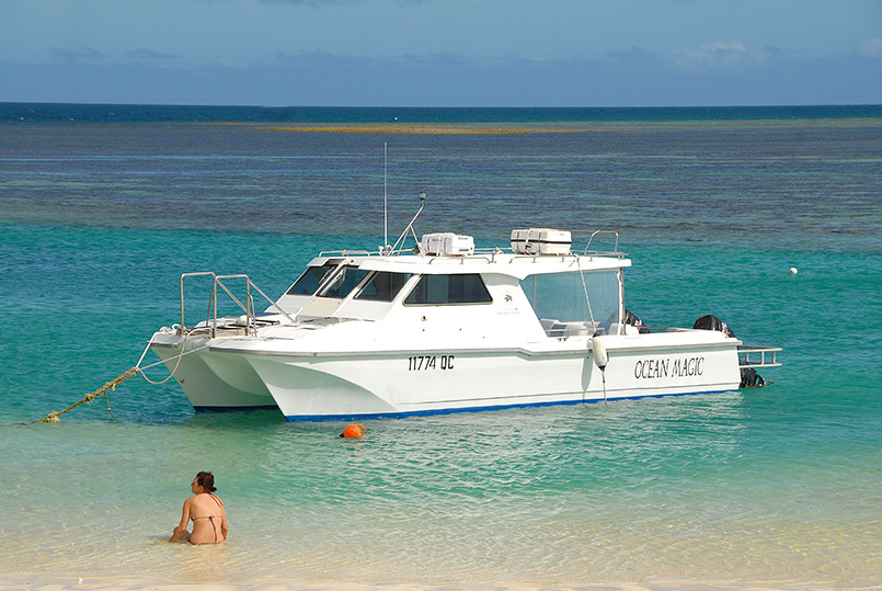 Heron Island im südlichen Great Barrier Reef