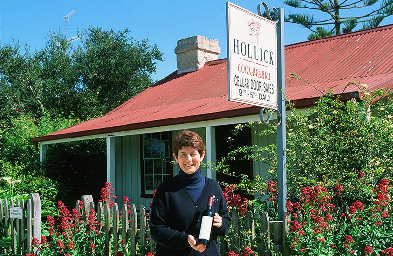 Coonawarra: Wendy Hollick von Hollick Wines (