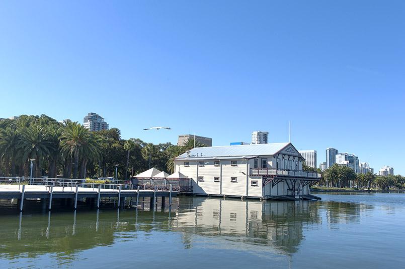 Perth: am Swan River