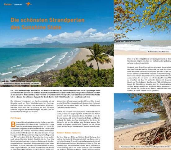"""Die schönsten Strände von Queensland - vorgestellt von Hilke Maunder im Ländermagazin """"380° Australien"""""""