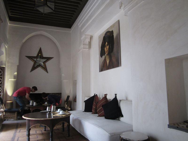 Lobby des Riad Matham