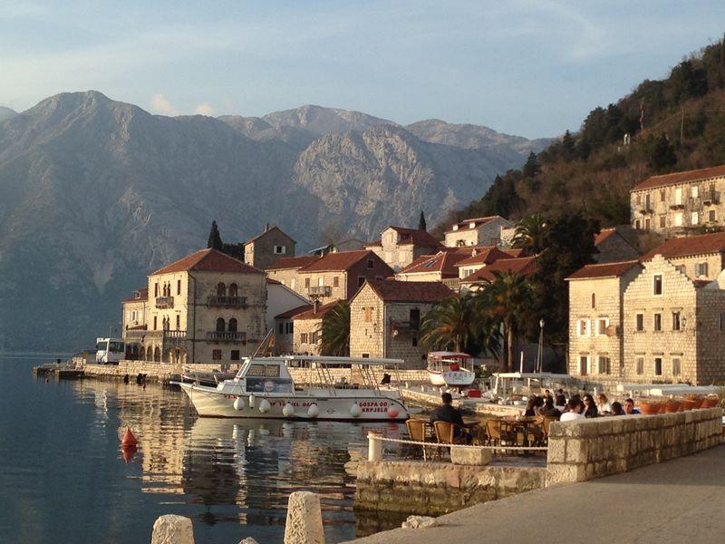Perast in der Bucht von Kotor