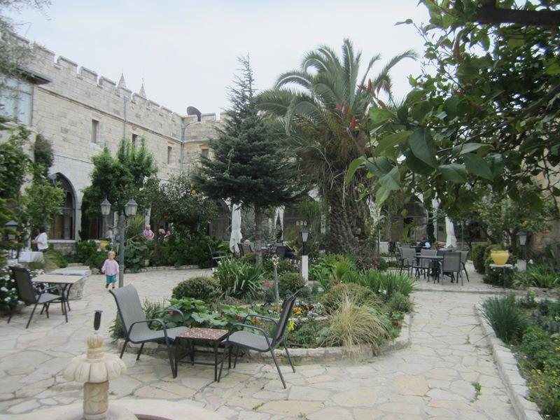 Garten im St. George´s Guesthouse
