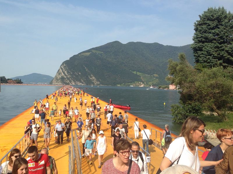 Floating Piers 4