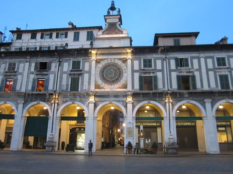 Astronomische Uhr in Brescia