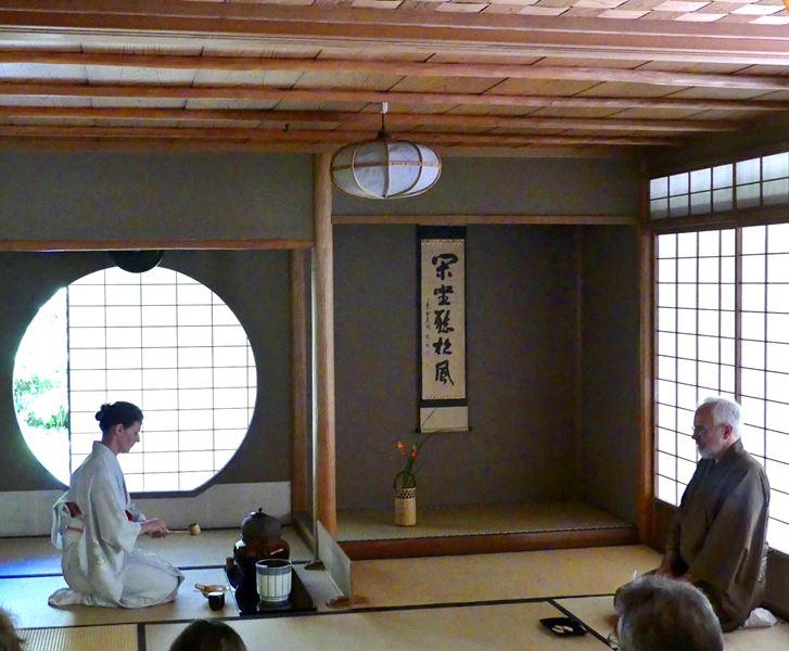 Meditative Zeremonie