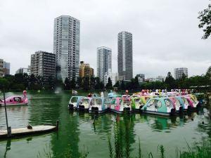 Boote im Ueno-Park