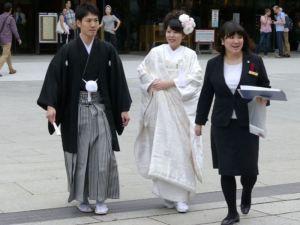 Hochzeit am Meiji-Schrein