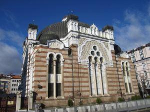 die Synagoge der Stadt
