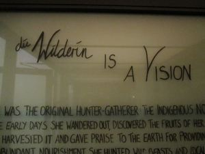 die Wilderin is a Vision