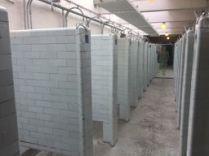 Duschräume für die Bergwerker