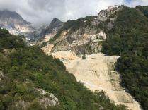 Marmorbruch in den apuanischen Alpen