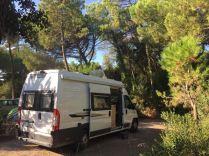 Unser Platz (Camping Etruria) an der Marina di Castagneto