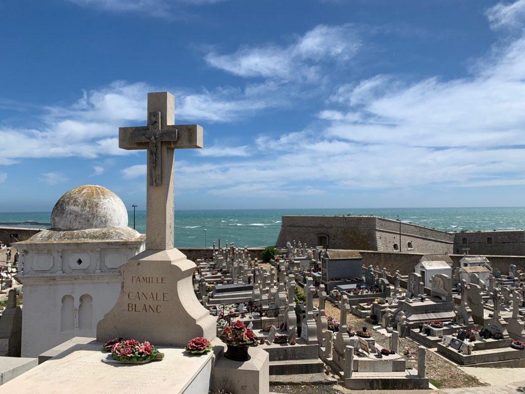 Drehort Friedhof