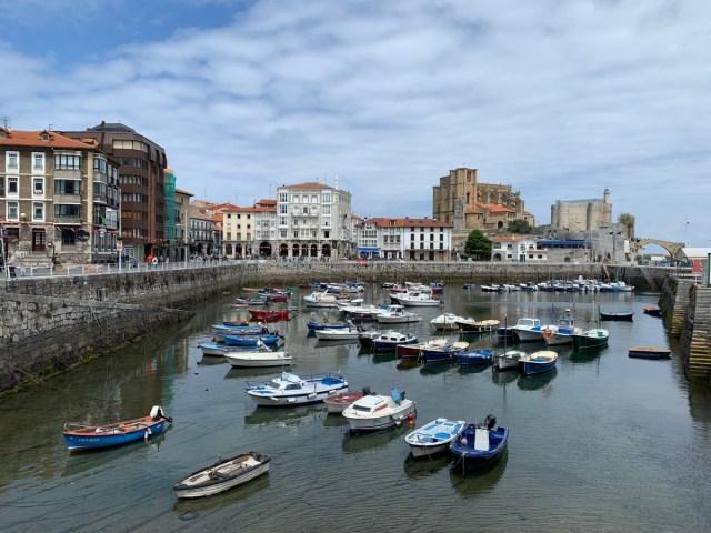 Hafen von Castro Urdiales