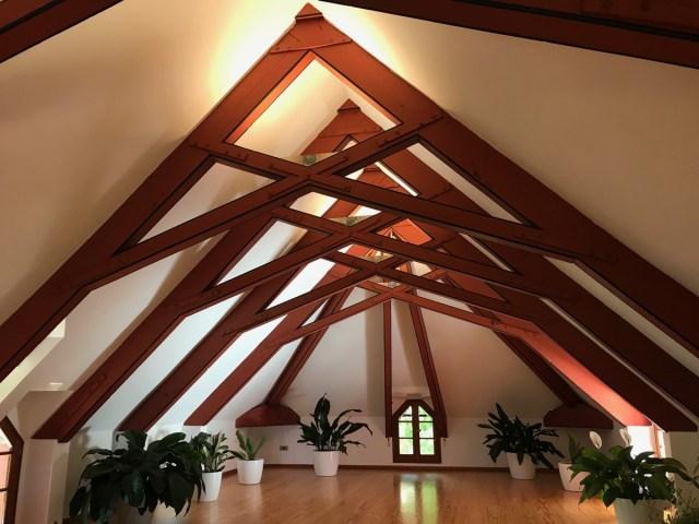 Dachgeschoss, Wohnort für die Angestellen