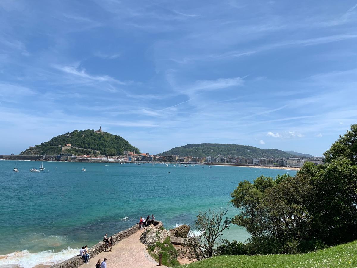 Blick auf die Isla de Santa Cruz