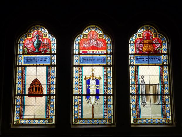 Miksa Róth Glasfenster, Synagoge Szeged