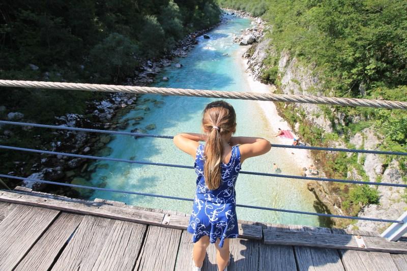 Over de hangbruggen bij Kozjak, Slovenië2
