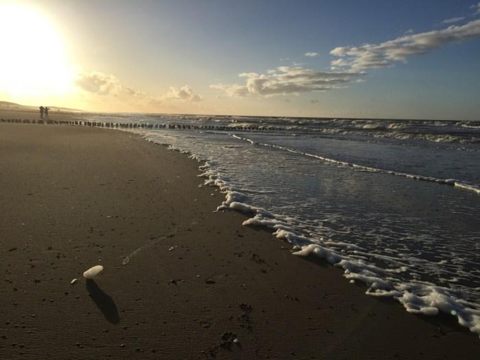 Het strand in Domburg
