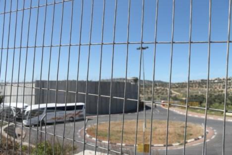 De grens tussen Israël en Palestina