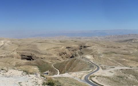 Het landschap in Palestina