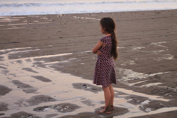 Aan het strand in San Juan del Sur