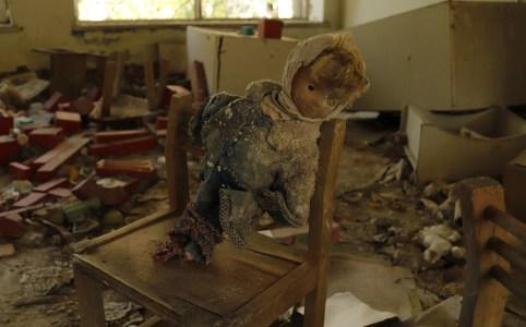 Chernobyl poppen
