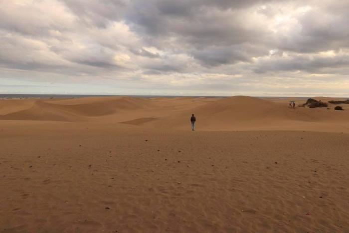 De duinen van Maspolomas