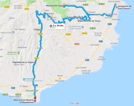 Autoroute Gran Canaria