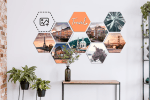WINACTIE! Win een hexagon collage t.w.v. €125,55!