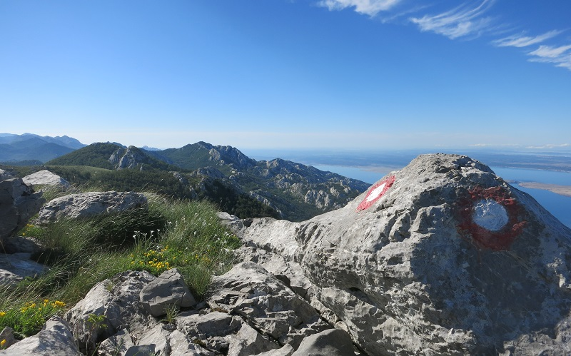 Velebit view on sea