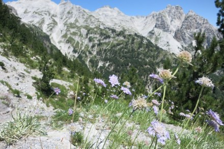 Trail to Valbona Albania