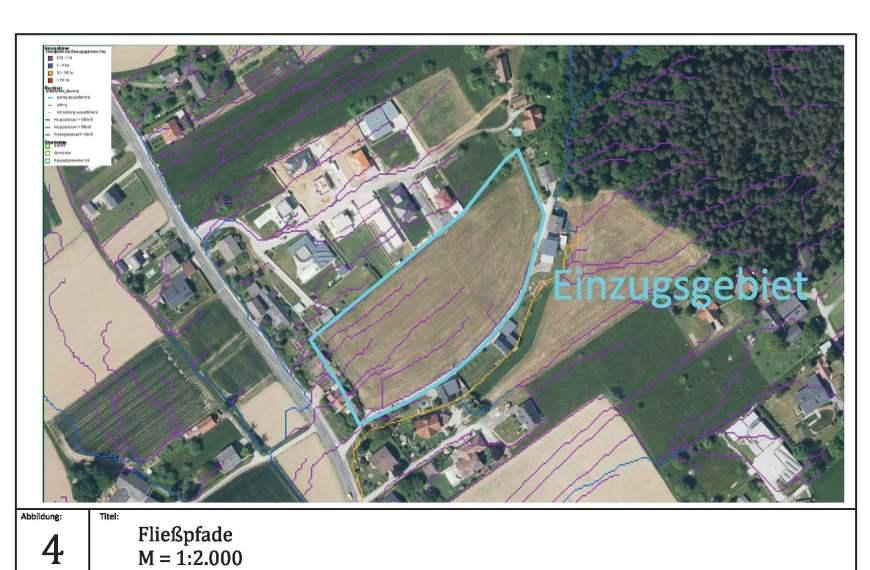 Regenwasserkonzept für Bebauungsplan